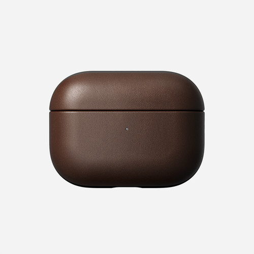 Rugged Leather Case for AirPods Pro - Rustic Brown