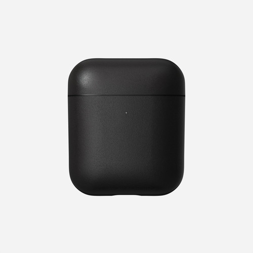 Rugged Leather Case for AirPods  - Black