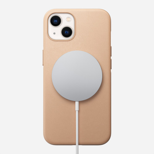 Modern Leather Case for iPhone 13 - Natural