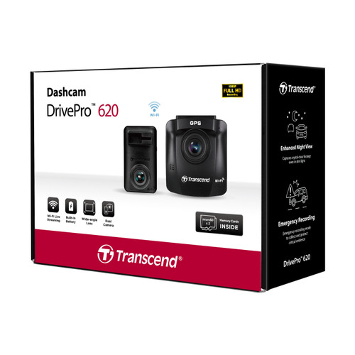 Dual Camera Dashcam DrivePro 620