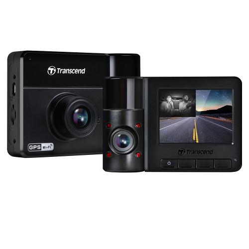 Transcend Dual Lens Dashcam DrivePro 550B front-back