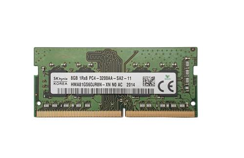 HMA81GS6DJR8N | 8GB sodimm 3200MHz | PC4-25600 DDR4 | Hynix 8GB sodimm 3200Mhz | Flexx Memory |