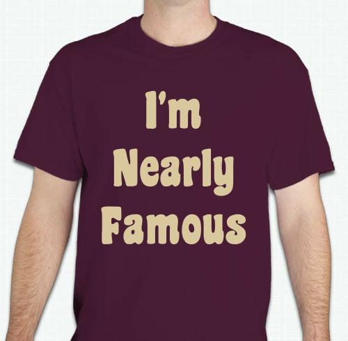Braylu T-Shirt - I'm Nearly Famous