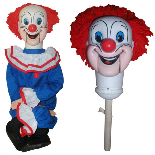 Bozo - Semi-Pro Upgraded Ventriloquist Figure
