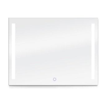 """Dyconn Faucet Catella - LED Wall Mounted Backlit Vanity Bathroom LED Mirror with Touch On/OFF Dimmer & Anti-Fog Function (48""""W X 36""""H)"""