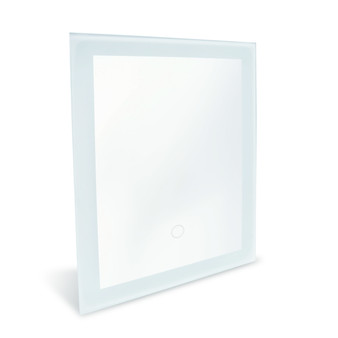 """Dyconn Faucet Royal - LED Wall Mounted Backlit Vanity Bathroom LED Mirror with Touch On/OFF Dimmer & Anti-Fog Function (12""""W X 16""""H (Vertical/Horizontal))"""