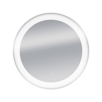 """Dyconn Faucet Circle Round LED Wall Mounted Backlit Vanity Bathroom LED Mirror with Touch On/OFF Dimmer & Anti-Fog Function (34"""" Diameter)"""