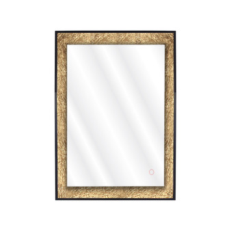 """Dyconn Faucet Apollo LED Wall Mounted Backlit Vanity Bathroom Mirror with Touch On/Off (24"""" W X 32"""" H)"""