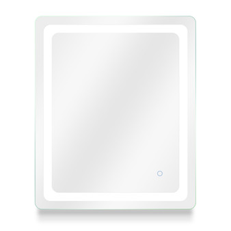 """Dyconn Faucet Egret Tri-Color Horizontal/Vertical Wall Mounted Backlit LED Bathroom Vanity Mirror with Touch ON/OFF Dimmer & Anti-Fog Function (30"""" W X 36"""" H)"""