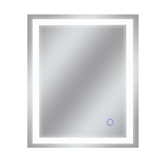 """Dyconn Faucet Edison Tri-Color Horizontal/Vertical Wall Mounted Backlit LED Bathroom Vanity Mirror with Touch ON/OFF Dimmer & Anti-Fog Function (30""""W X 36""""H)"""