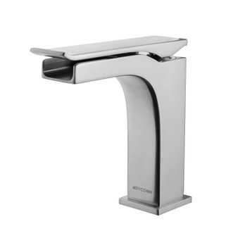 Dyconn Faucet VS1H28A-BN Conway Single-Handle Waterfall Vessel Bathroom Faucet, Brushed Nickel