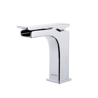 Dyconn Faucet VS1H28A-CHR Marsh Single-Handle Waterfall Vessel Bathroom Faucet, Chrome