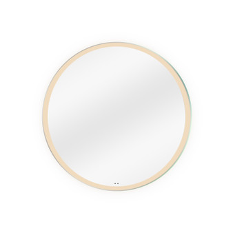 """Dyconn Faucet Maxwell Round Wall Mounted Backlit LED Bathroom Vanity Mirror with Motion Sensor Technology (32"""" Diameter)"""