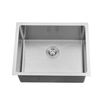 BOANN UM2318-BN Undermount Kitchen Single Bowl Sink - 23 x 18 -  BN