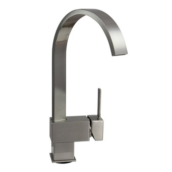 Dyconn Faucet Hudson 12-1/2-Inch Contemporary Modern Bath, Vanity, Bar Faucet (Brushed Nickel)