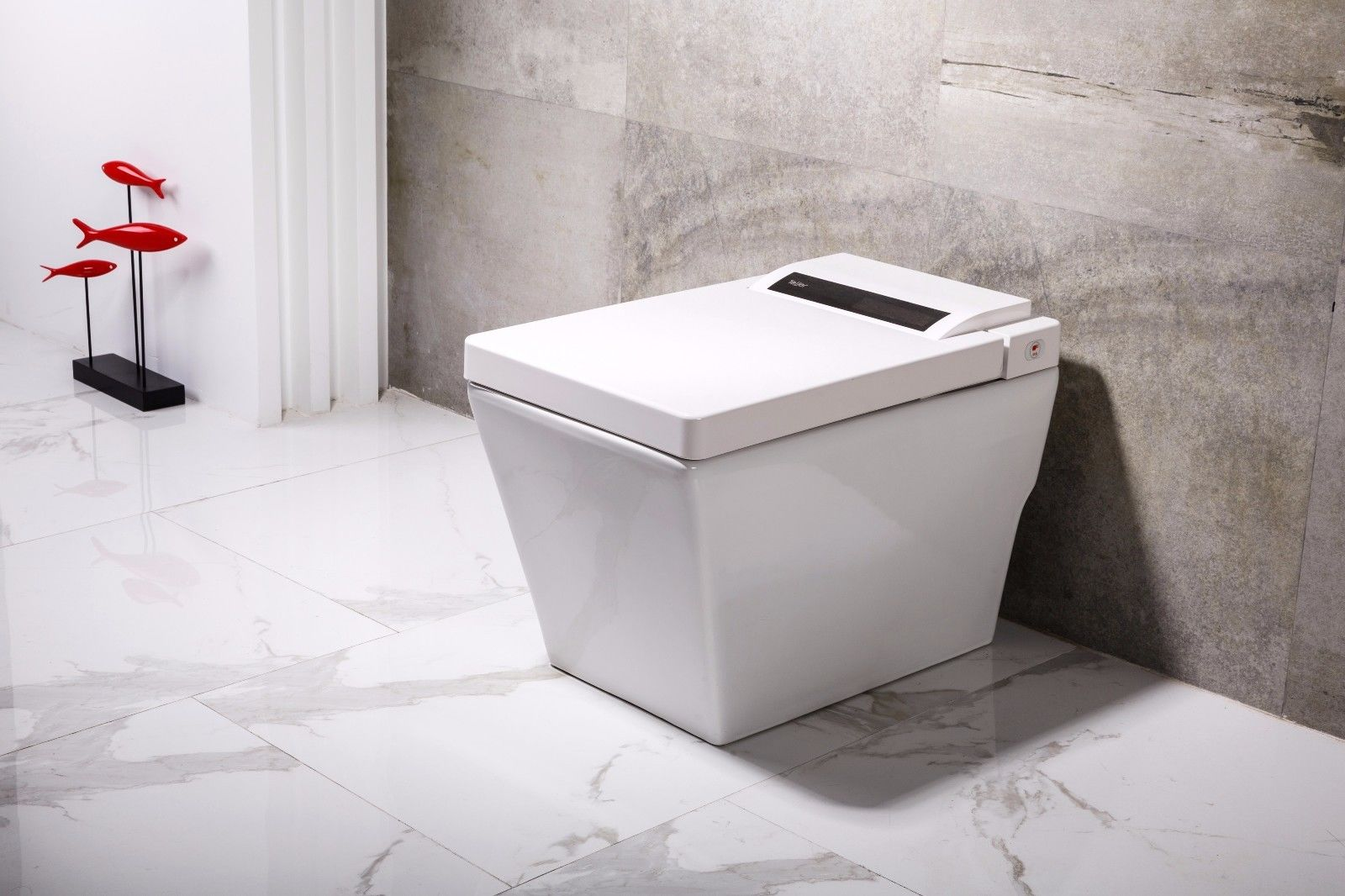 Dyconn Faucet Aqua Tankless All In One Combo Bidet Smart Toilet Luxor Essential Kitchen And Bath Depot