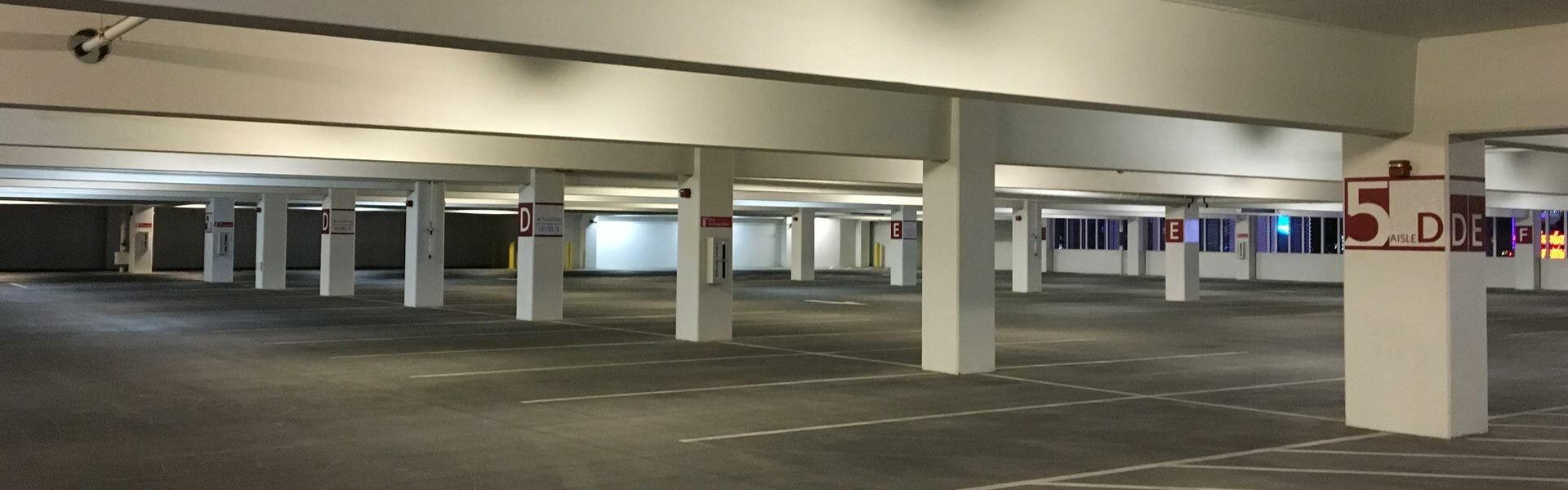 Parking Decks, Garages & Lots