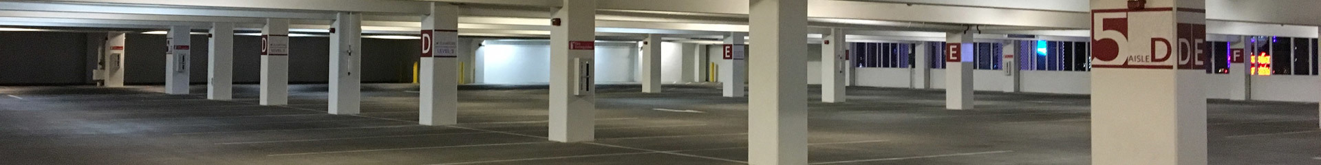 Parking Decks, Garages & Lots