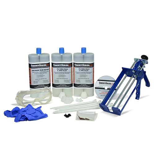 Urethane Slab Crack Repair Kit w/ UV Stabilization (Large)