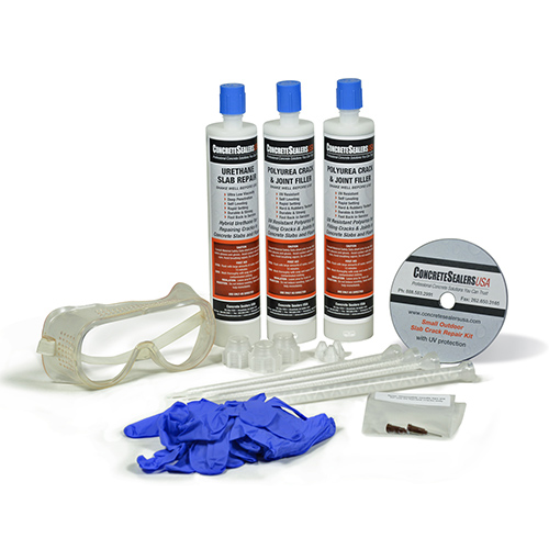 Urethane Slab Crack Repair Kit w/ UV Stabilization (Small)