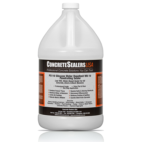 PS110 Siloxane Water Repellent WB-10 Penetrating Sealer (1 gal.)