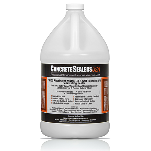 PS100 Fluorinated Water, Oil & Salt Repellent WB Penetrating Sealer (1 gal.)