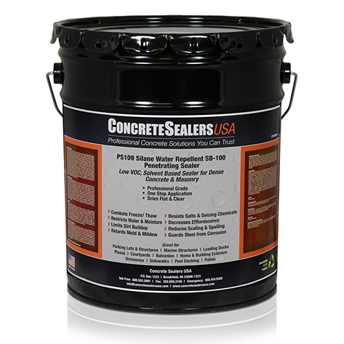 PS109 Silane Water Repellent SB-100 Penetrating Sealer (5 gal.)