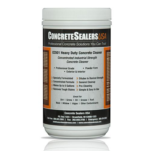 CC501 Heavy Duty Concrete Cleaner (32 oz.)