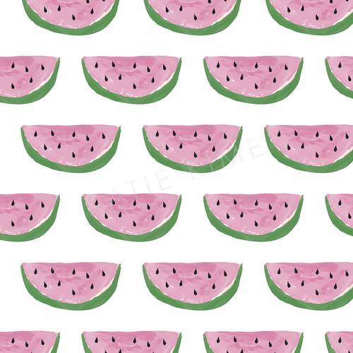 Watermelon wallpaper swatch.