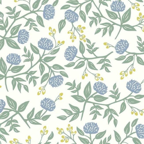 Large periwinkle colored peony wallpaper.