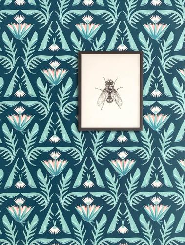 Green lotus wallpaper.
