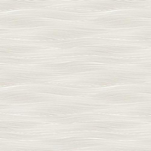 Rolling ocean wallpaper in french gray.