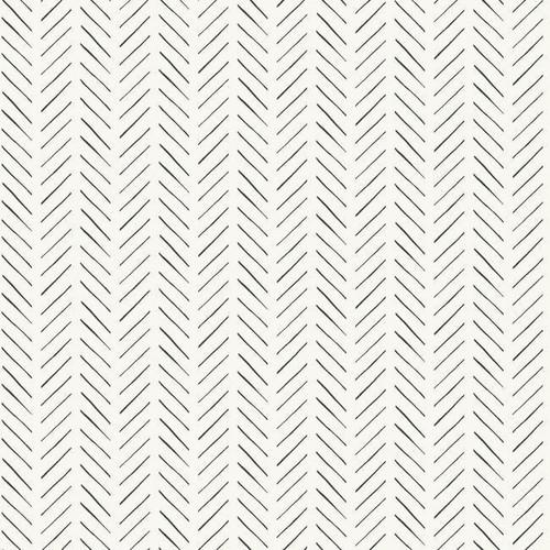 Minimal line wallpaper in a tweed pattern.