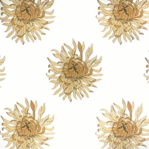 Large scale chrysanthemum wallpaper.