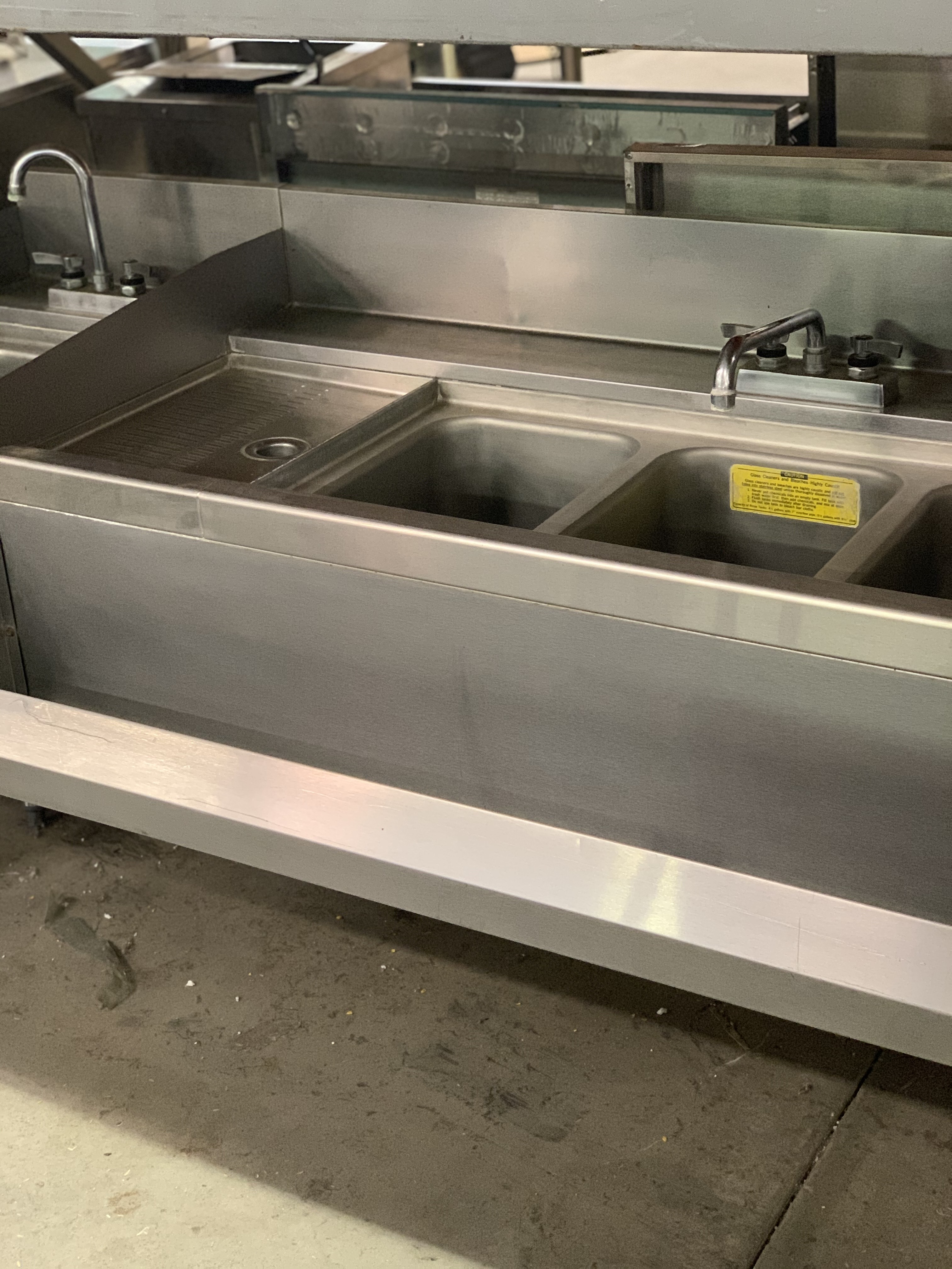 Second Hand Work Tables , Sinks & Shelving