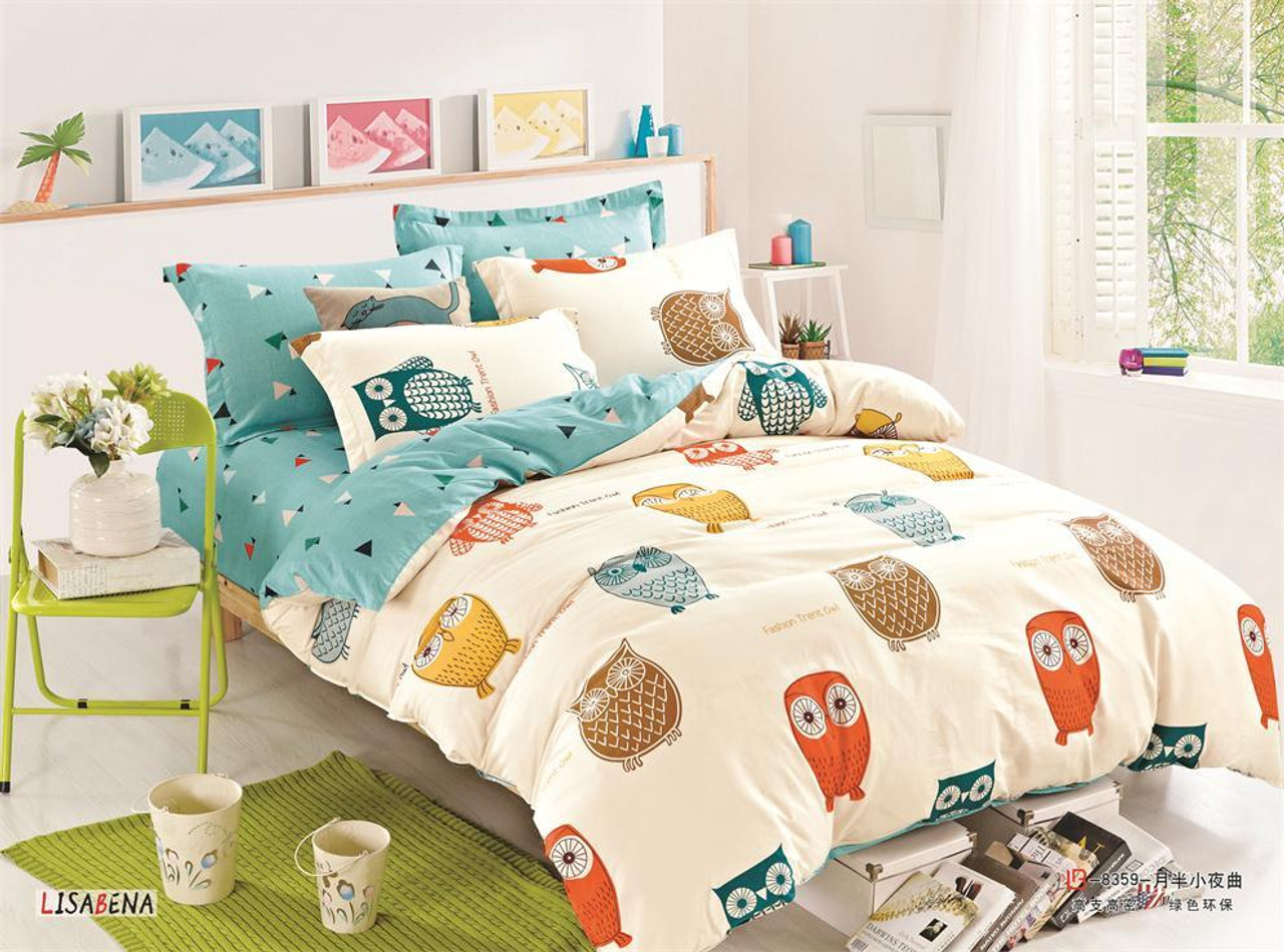 Kids Printed Quilt Cover Sets