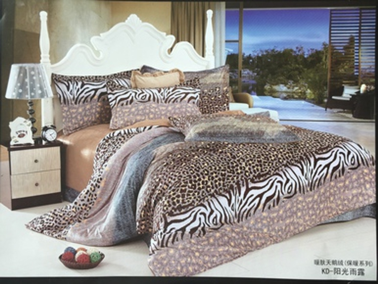 Plush Mink Quilt Cover Set