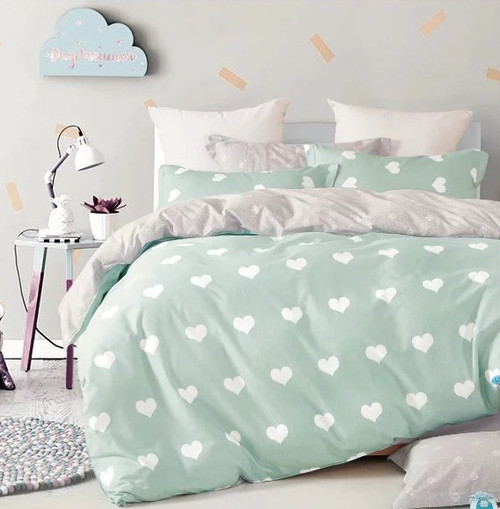 [50% OFF!] Kids Cotton Print Quilt Cover Set - NL17262