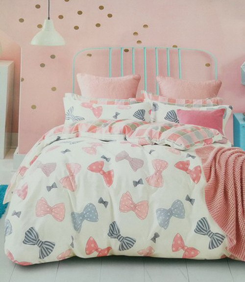 [50%OFF!]100% Cotton Printed Kids Quilt Cover Set-NL18009