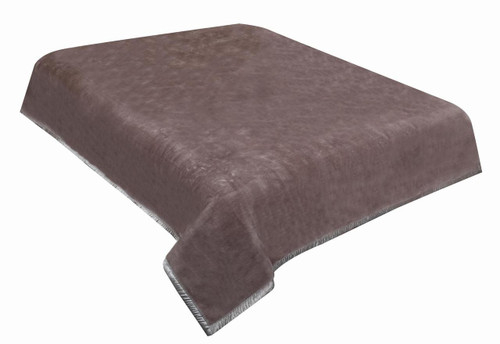 [50% OFF]  Plain Color Mink Blanket - Super Soft -Latte single  Bed