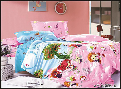 [New Arrival!]100% Cotton Printed Kids Quilt Cover Set-NL18172