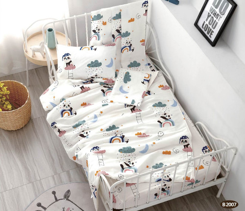 [40%OFF!!!] 100% Cotton Printed  Baby Comforter Set B2007