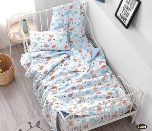 [40%OFF!!!] 100% Cotton Printed  Baby Comforter Set B2001