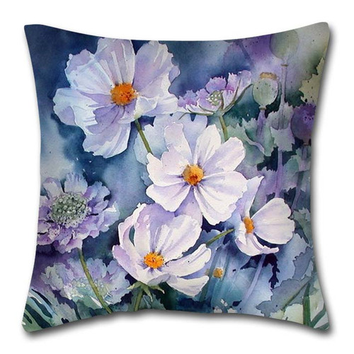 [40%OFF] Digital Floral Printed Cushion Cover -NL2062