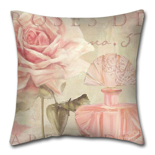 [40%OFF] Digital Floral Printed Cushion Cover -NL2066