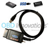 ELM327 USB Cable Modified HS MS CAN Switch with FT232RL + PIC18F25K80 for FORScan