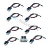 8X Ignition Coil Pack 4 Way Connector Harness Pigtail for GM LS2 LS3 LS7 Coils PT1627