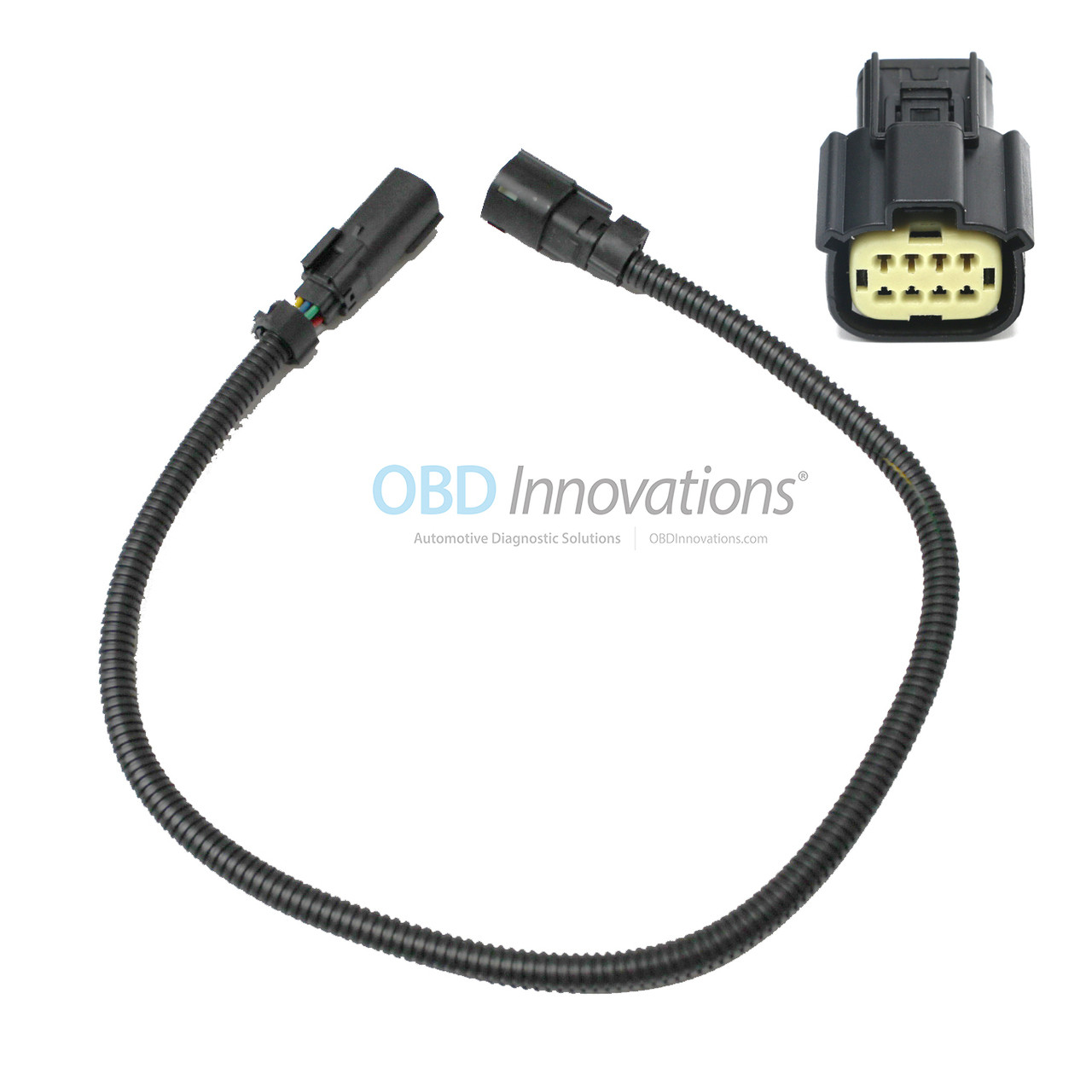"8 pin 24/"" Front O2 Sensor Extension for 11-14 Ford Mustang V6 3.7L"