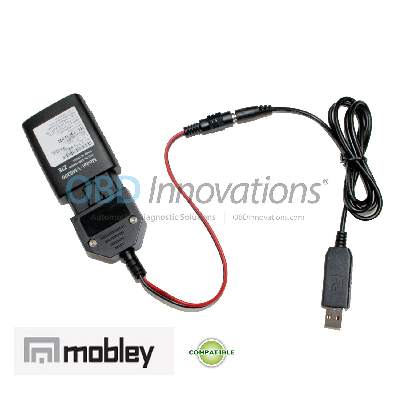 USB OBD2 Power Adapter for AT&T ZTE Mobley 4G LTE WiFi Hotspot