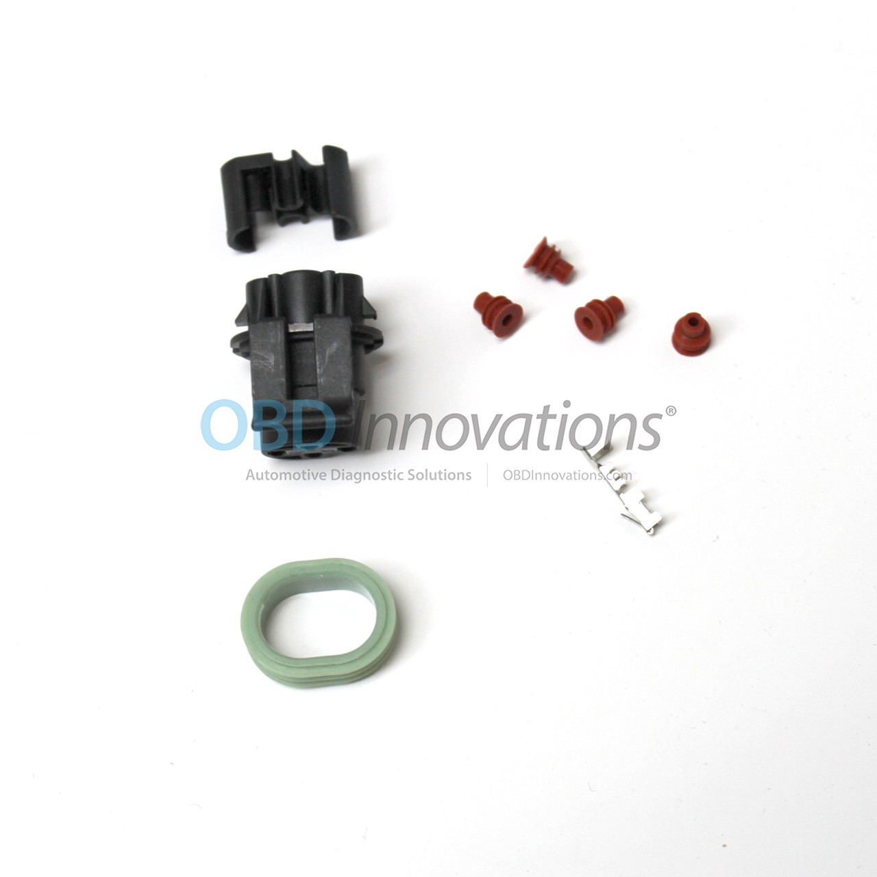 Oil Pressure Sender Switch Connector Harness Kit GM Corvette Camaro on relay wiring, ford wiring, gm wiring,